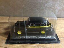 Die Cast Ford Fordor Sedan Taxi Istanbul 1947