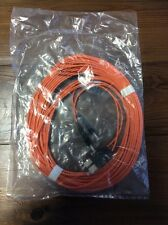 NEW Anixter 207061 (10 Meter) ST-SC Fiber Optic Patch Cable 62.5/125