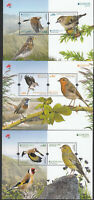 CEPT Portugal Azoren Madeira    2019 MNH** Bird Block Set