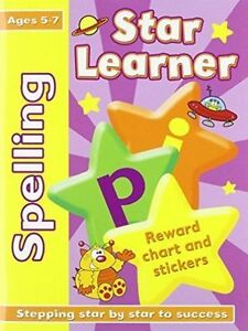 STAR LEARNER: SPELLING 5-7, New, N/A Book