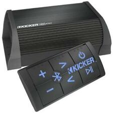 New Kicker Marine Car 2 Channel Portable Bluetooth Stereo Amplifier with Remote