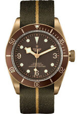 AUTHENTIC NEW TUDOR HERITAGE BLACK BAY BRONZE MENS WATCH M79250BM-0004