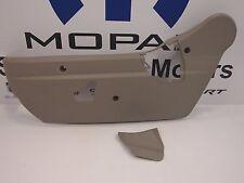 04-09 Dodge Durango New Seat Adjuster Shield Front Driver Side Khaki Mopar Oem