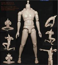 KUMIK 1/6 Male Slim Figure Body Ferritic 12'' Action Figure No head Toys