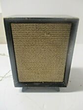 Wood Transistor Radio Attachment Speaker