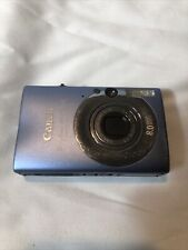 Canon PowerShot ELPH SD1100 IS 8.0MP Digital Camera - Blue
