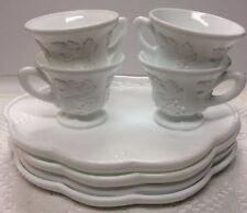 Vintage Original Tray Milk Glass Opaque Glassware | eBay
