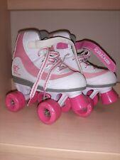 Roller Derby Youth Girls Firestar Roller Skate White Pink Size 2