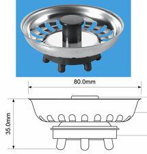 Genuine McAlpine Replacement Sink Strainer Waste Plug BSKTOP Rubber Finger Seal