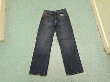 "Le Coq sportif Loose Straight Waist 30"" Leg 30"" Faded Dark Blue Mens Jeans"