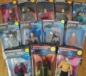 90S Star Trek 9in Action figures,Original Packaging, Vintage, Multi-listing