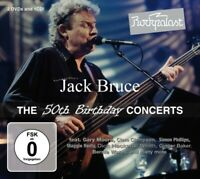 JACK & FRIENDS BRUCE - ROCKPALAST:THE 50TH BIRTHDAY CONCERTS 2 CD + DVD NEU