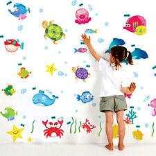 5711 | Wall Stickers Underwater Creatures Baby Room