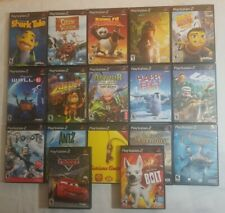 Lot of 17 Playstation 2 PS2 Games Mostly Kid/Disney Video Game Lot! TESTED!!