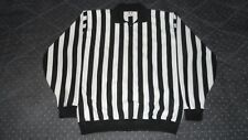 Hockey Referee Black and White CCM Men's Size 52 NHL Hockey Jersey