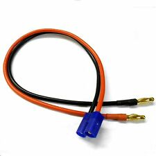 Conector Macho EC3-C-B4.0B-C RC EC3 a 4mm 4.0mm Adaptador de enchufe de plátano macho 30cm