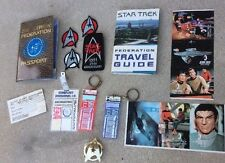 Star Trek Fan Memorabilia  Collectibles Lot