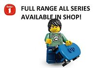 Lego minifigures skater series 1 (8683) unopened new factory sealed