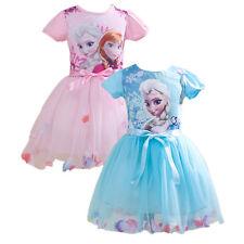 Girl Kid clothes Cartoon Princess dress Halloween Christmas Party Birthday Gift