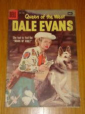 DALE EVANS QUEEN OF THE WEST #17 VG (4.0) 1957 DELL WESTERN COMIC C