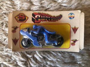 Coibel Superboons Batman Batbike Diecast Bootleg Corgi Junior 1970's Spain