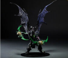 "World Of Warcraft  Demon Form illidan stormrage 14"" Toy Figure Doll New in Box"