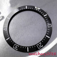 39.9MM black ceramic bezel insert watch Fit Automatic movement Men's Watch bezel