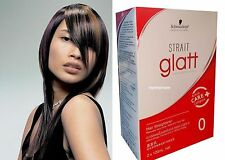 120ml Schwarzkopf Glatt Permanent Hair Straight Straightening Cream  STRONG