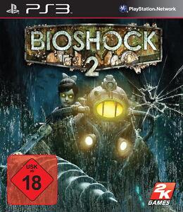 PS3 / Sony Playstation 3 Spiel - Bioshock 2 (mit OVP) (USK18) (PAL)