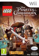 LEGO PIRATAS DEL CARIBE TEXTOS EN CASTELLANO NUEVO PRECINTADO  Wii