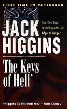 book, like new, paperback,The Keys of Hell, by jack Higgins