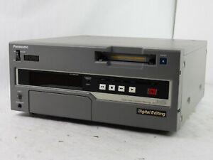 Panasonic AJ-D450 DVC Pro Player/Editor -  Very Low Hours - Read Description