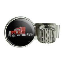 Semi Tractor Trailer Truck Trucker Pen Holder Clip For Planner Journal Book