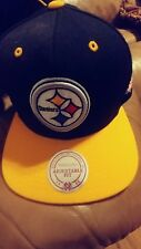 BRAND NEW Mitchell and Ness - Pittsburgh Steelers Wool Hat in Main Team Color
