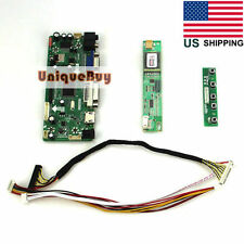 "17"" LCD Controller Board Card HDMI+VGA+DVI for 1440*900 B170PW LTN170WX LTN170X2"