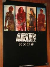 "MY CHEMICAL ROMANCE - HAND SIGNED ""DANGER DAYS"" POSTER"