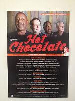 HOT CHOCOLATE 2014 Australian Tour Poster A2 John Paul Young You Sexy Thing NEW
