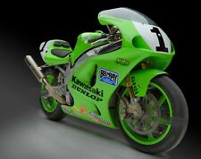 "24"" X 30"" High Definition PHOTOGRAPH Poster Doug Chandler Kawasaki ZX7RR Angle"