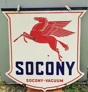 Socony-Vacuum Red Pegasus Sign - original 1934