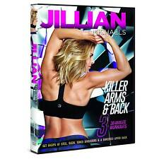 Jillian Michaels Killer Arms & Back 3x30 Minute Workouts With Digital Vudu Copy