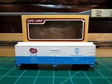 "LIFE-LIKE  HO Scale 40' Scribed Reefer ""BANGOR AND AROOSTOOK Maine Potato""  RTR"