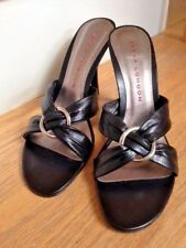 Sandals by SASHA London Made in SPAIN Size 8.5, Color: Black