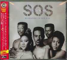 S.O.S. BAND-DIAMONDS IN THE RAW-JAPAN CD BONUS TRACK Ltd/Ed B63