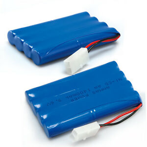 9.6V 1400mAh Ni-Cd Rechargeable Battery Pack Tamiya Plug AA For RC Toy Car Truck