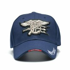 Blue Navy SEALS Embroidered Cap USA America Military LARP Roleplay