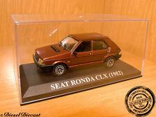 SEAT RONDA CLX CL-X C-LX METALLIC BROWN 1982 1:43 MINT!
