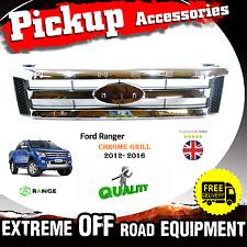 Front Grille Grille Chrome For Ford Ranger Pickup 2012 - 2015 T6 OEM 2.5TD - M17