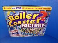Roller Coaster 2 Factory PC CD ROM Windows 95/98/ME/XP B452