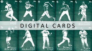 Topps BUNT CHALK 2020 10 CARD FULL SET AWARD READY