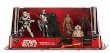 New Disney Store Star Wars The Force Awakens PVC Figurine 6 Figure Playset Set